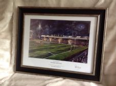 Leeds Rhinos South Stand  Celebration A3 Framed Print
